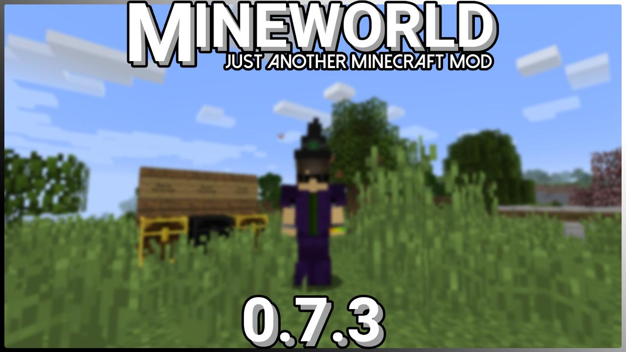 MineWorld Release 0.7.3